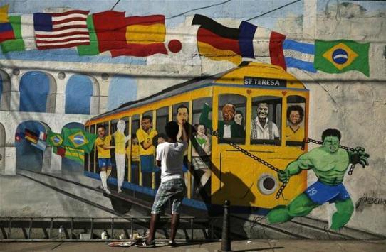 brazil street graffiti