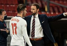 Jack Grealish Gareth Southgate social media