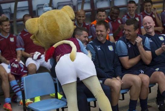 Roy Keane Villa mascot