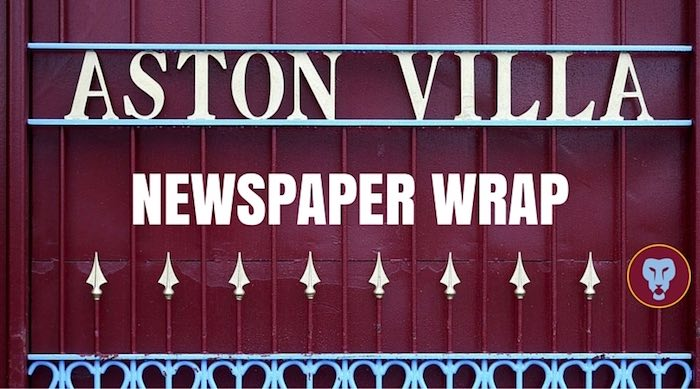 Villa newspaper wrap