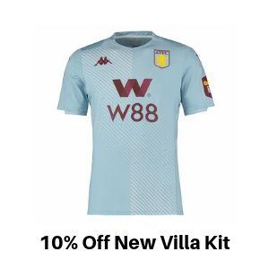 Aston Villa Away kit discount