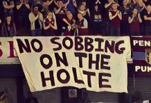 no sobbing on the holte