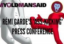 remi garde press conference