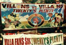 twentys plenty villa fans
