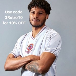Tyrone Mings 1982 Aston Villa shirt