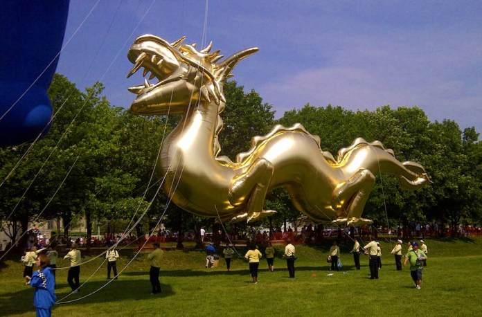 Aston Villa dragon