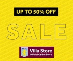 Aston Villa Store Sale