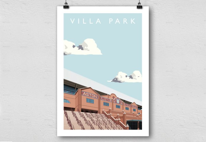 Matthew Wood Villa Park Print