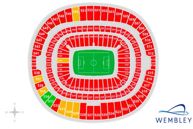 Wembley Tickets 11pm