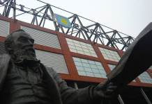 William McGregor Statue Villa Park