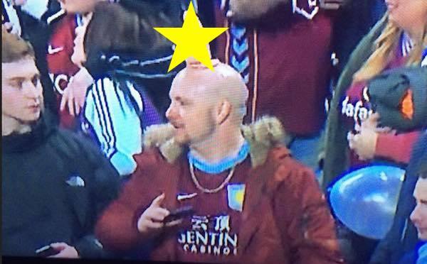 Mr Ann Summers Aston Villa fan