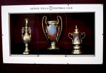 aston villa trophies