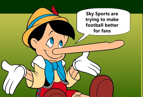 Sky Sports pinocchio