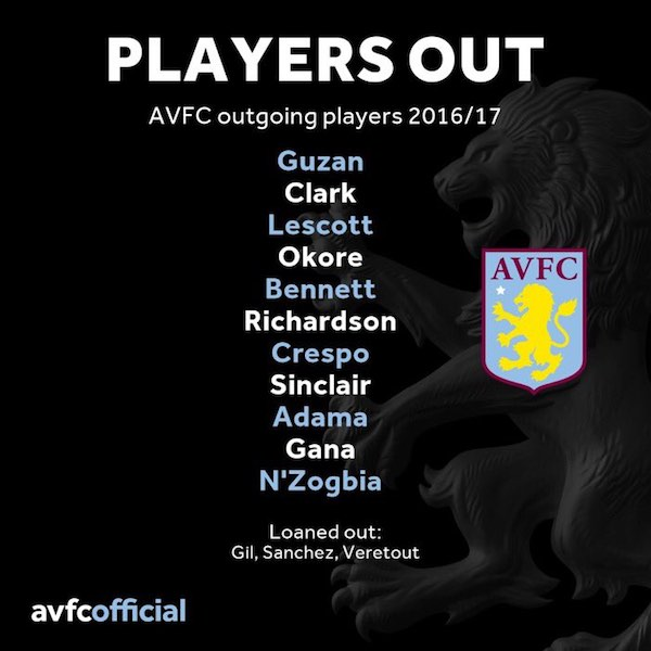 transfer villa players out