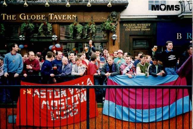 Green Man Pub Wembley Aston Villa