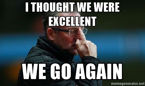 I thought we were excellent paul lambert