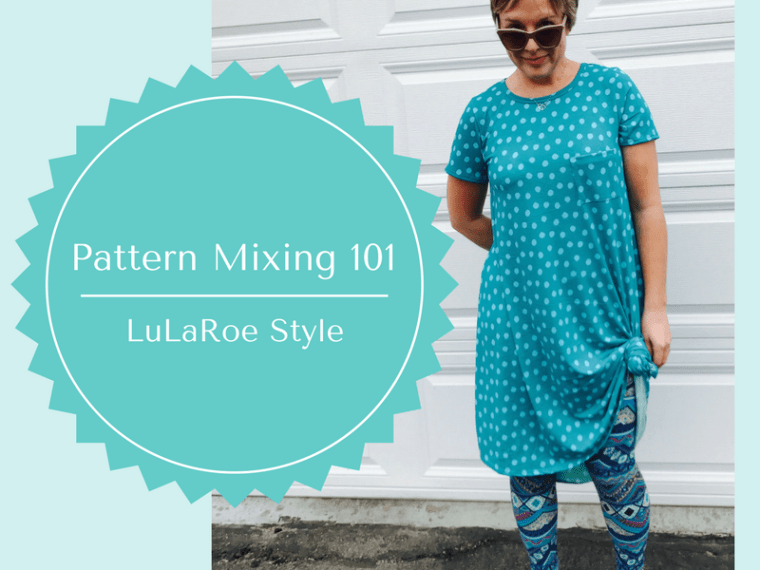 Pattern Mixing 101 with a LuLaRoe Carly and LuLaRoe Leggings | via MyOtherMoreExcitingSelf.com #lularoe #fashion #style
