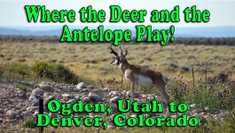 Wyoming: Where the Deer and the Antelope Play – Ogden, UT to Denver, CO [Video]