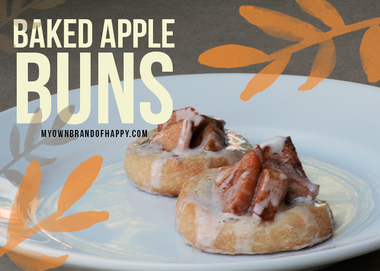 baked-apple-buns