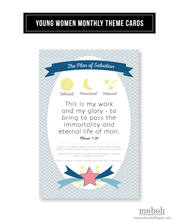 MOBOH February 2015 YW Theme Card