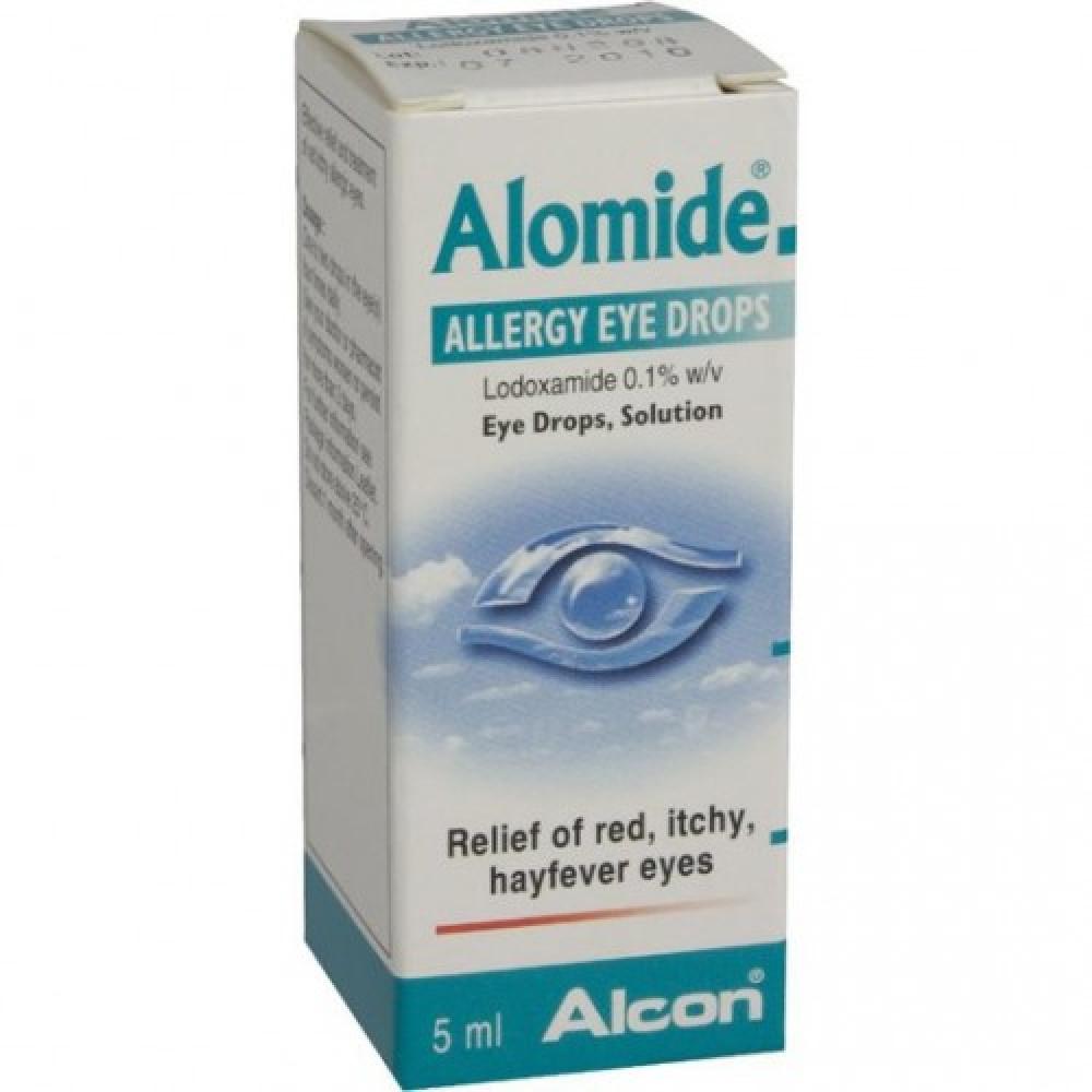 Home Pharmacy Allergies & Seasonal Alomide Allergy Eye Drops