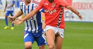 Footballer Iago Bouzon dick pop out
