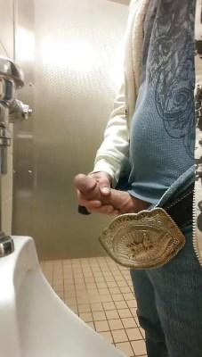 big dick in urinals