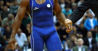 Wrestler hardon
