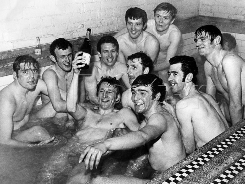 Celtic team naked