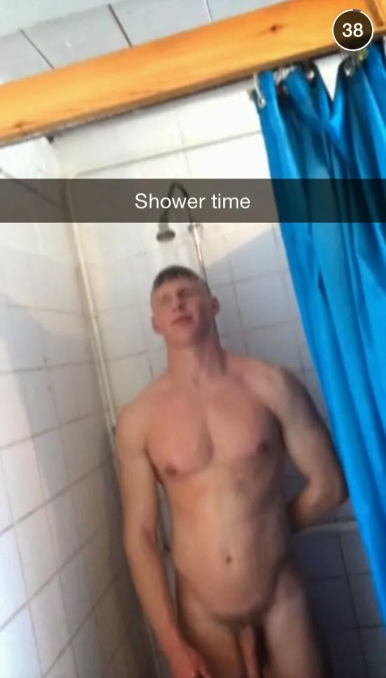 snapchat-naked-guy-showers-dick-caught