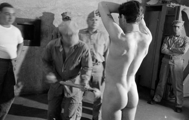 male recruits medical inspection