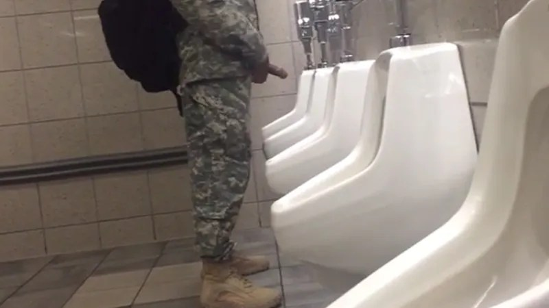 marine-caught-hardon-at-urinals