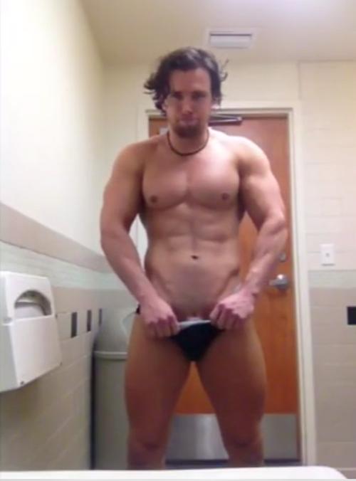 hunk-striptease-in-locker-room