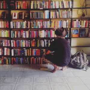 my own way travel blog - bookstore and traveler
