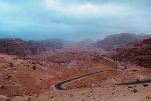 back way to Petra