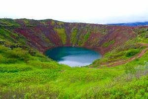KeriÕ cratère volcanique et son lac