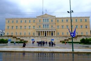 le parlement grec place Syndagma