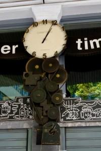 horloge quartier Psiri