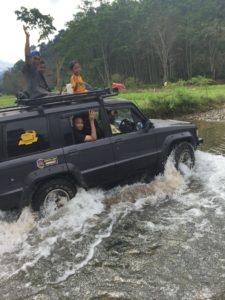 jungle et rivière de Sukamade