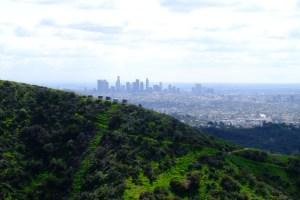 vue sur Los Angeles de wonder view trailhead