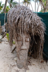 palmier sculpté