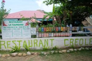 "restaurant ""Toumbana"" aux Saintes"