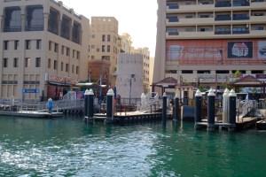 balade en Abra Dubai