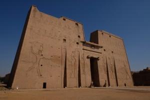 temple d'Horus à Edfou