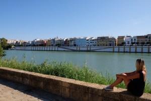 Vue sur le Quartier Triana à Séville