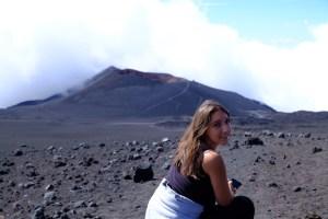 L'Etna paysage lunaire!
