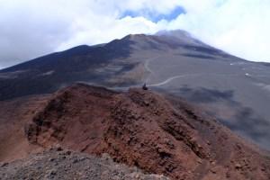 crête des cratères attenants de l'Etna!