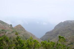 la vallée volcanique de Chinamada