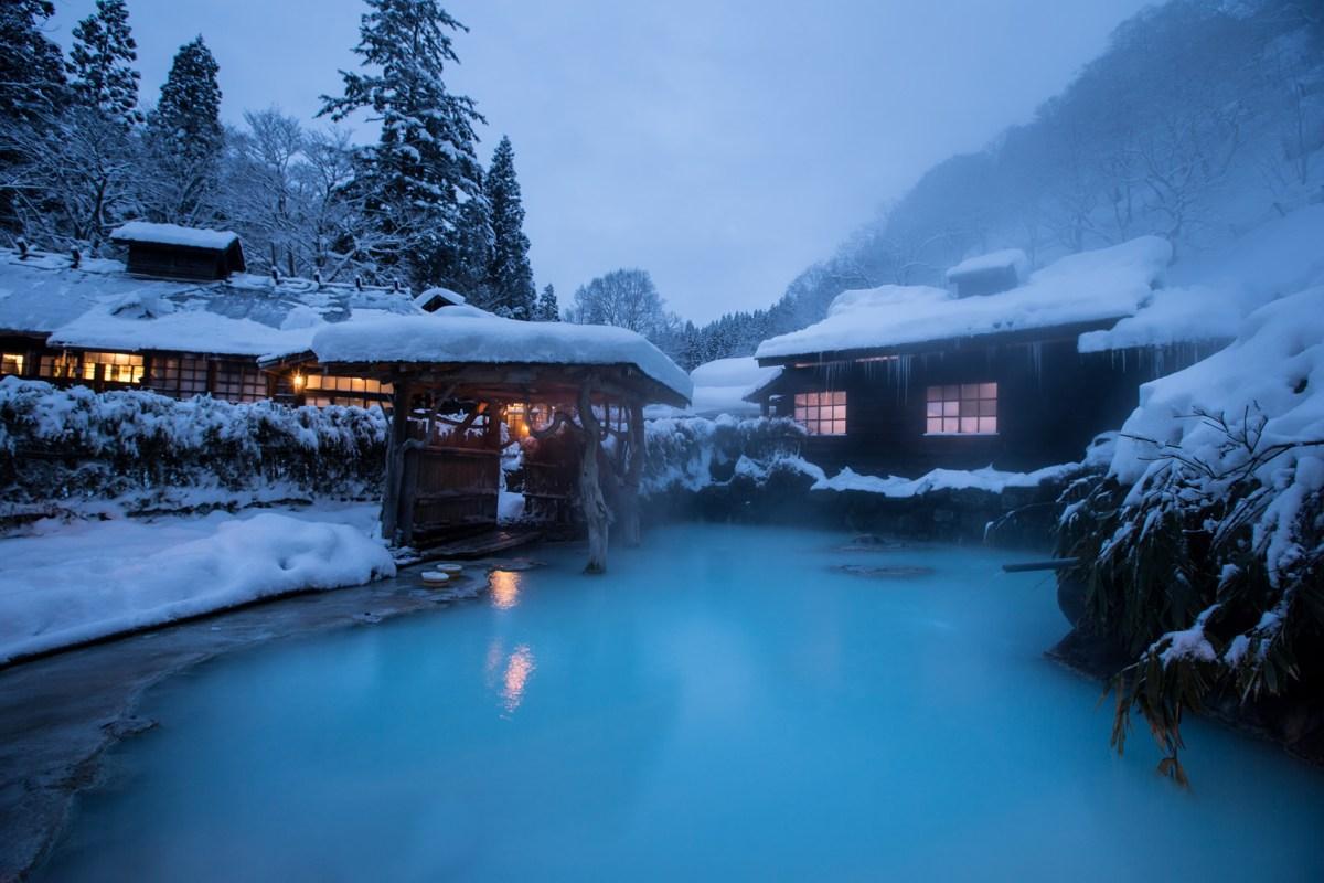不負責任推介10大雪見露天風呂旅館之全日本(北海道以外)篇。