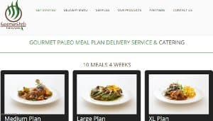 Screenshot of Caveman Chef Home Page- Their food delivery service Springfield is very important for this city people. They provide healthy meal delivery Springfield for the customers. Paleo restaurants Springfield area serves healthy food nearby area. Paleo restaurant Springfield is one of the best restaurant in this city.